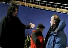 Severus Snape Photo: Behind the scenes of Harry Potter - Alan Rickman