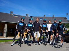 Team Sky | Pro Cycling | Photo Gallery | Dauphine training camp gallery