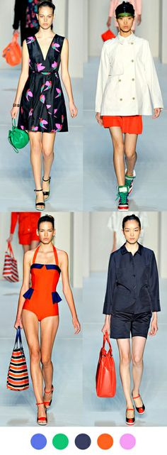 Marc by Marc Jacobs, Spring 2012 on Color Collective