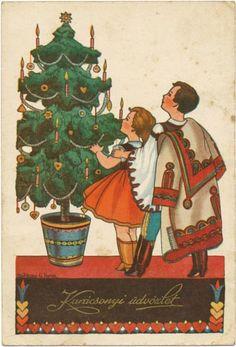 magyar karácsonyi képeslapok - Google keresés