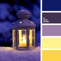 This palette represents a standard combination of violet and yellow colours. Dark, rich violet is the basis of the palette and it combines perfectly with t Best Picture For wedding color palette blue Purple Color Palettes, Colour Pallette, Christmas Palette, Christmas Colors, Christmas Colour Schemes, Decoration Palette, Color Balance, Color Swatches, Color Theory