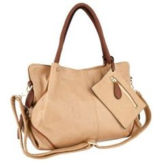 6460a7423401 LALANIE Camel Oversized Slochy Soft Shopper Hobo Bag Office Tote Handbag  Purse Shoulder Bag w