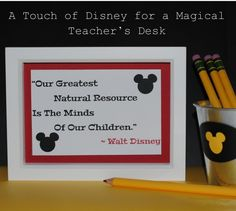 Disney quote!