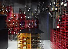 Weinhandlung Kreis wine shop interior by Furch Gestaltung + Production