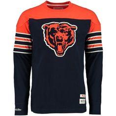 Chicago Bears Pump Fake Mitchell & Ness Crew Neck Sweatshirt
