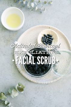 Activated Charcoal Exfoliating Facial Scrub   LiveSimply   Bloglovin'