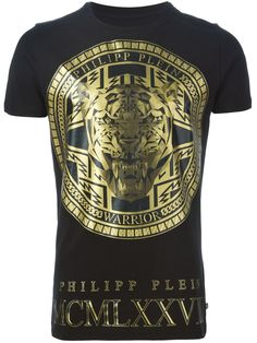 Philipp Plein 'medallion' T-shirt - Wellens Men - Farfetch.com