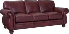 Cassandra Sofa   The Cassandra Sofa adds elegance and coziness to almost any room. The sweeping curved sock arms combine with a boxed-border semi-attached back and turned legs to spell out comfort combined with class. Round out the look with your choice of gorgeous fabric and leathers.