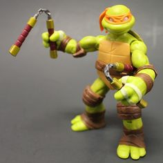Michelangelo figure from the new TMNT line.