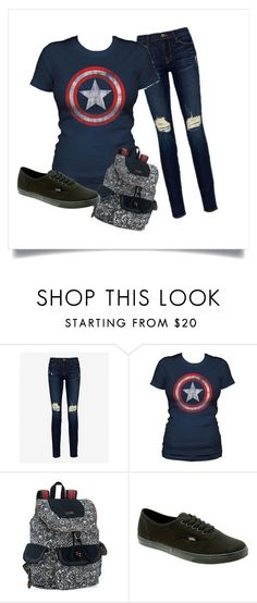 """""""idk"""" by lexee-kimber on Polyvore featuring Frame Denim, Sakroots and Vans"""