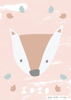 Cute Characters, Painting & Drawing, Squirrel, Kids Room, Beautiful Pictures, Fox, Baby Boy, Baby Ideas, Drawings