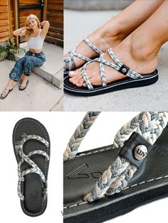 Womens Coconut palm trees silhouettes Green Slipper Fashion Comfortable Shoes