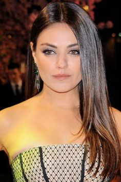 Hollywood's Most Requested Hair Colours | #Mila Kunis's Chocolate Brown hair  |#Celebrity #hairextensions