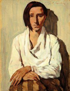 Spanische Frau, 1931, Lotte Laserstein