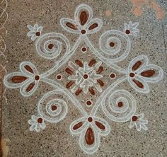 Rangoli Kolam Designs on Happy Shappy in Here you can find the most beautiful & Simple design, photos, images, free hand and more in Small & Large design Ideas Simple Rangoli Designs Images, Rangoli Designs Latest, Rangoli Designs Flower, Rangoli Border Designs, Rangoli Patterns, Rangoli Ideas, Rangoli Designs With Dots, Rangoli Designs Diwali, Kolam Rangoli