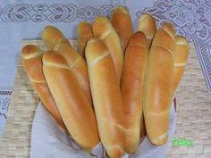 0182. sádlové rohlíky,uzly, housky ,bulky...od EVA - recept pro domácí pekárnu Hot Dog Buns, Hot Dogs, Food And Drink, Baking, Pizza, Bread, Patisserie, Bakken, Postres
