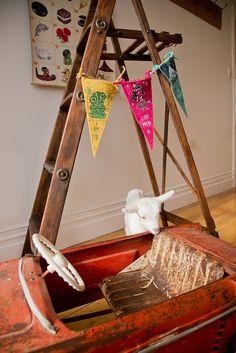 The Paua Room - Misery guts Felt Bunting / Club flag -I am free, $15.50 (http://www.thepauaroom.com/misery-guts-felt-bunting-club-flag-i-am-free/)