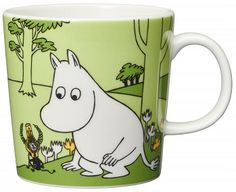 Become a Moomin mug collector with this beautiful new addition from Arabia Finland! Featuring an authentic Moomin illustration taken from the author.