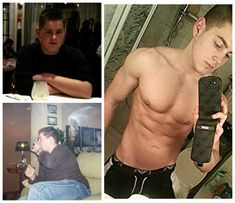 3 Year Teen Inspirational Bodybuilding Transformation. Check out his story!