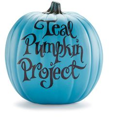 Learn about the Teal Pumpkin Project - non-food treats for trick or treaters with allergies