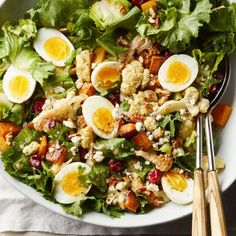 Serve this healthy salad as a main course or as a starter for a special meal. To speed up prep, look for precut butternut squash in the refrigerated area of the produce section at your grocery store.
