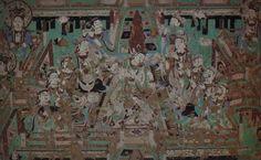 Yulin_Cave_12_n_wall_musicians_&_dancer_(Five_Dynasties).jpg (1479×910)