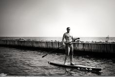 """Picture-A-Day (PAD n.1411) """"Paddle Surfer"""" ~Amy, DangRabbit Photography"""