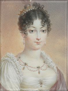1810s Marie Louise (?) by jean Baptiste Isabey (Boris Wilnitsky) second wife of Napoleon Bonaparte