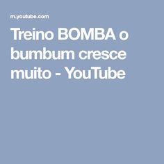 Treino BOMBA o bumbum cresce muito - YouTube
