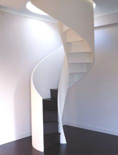 wooden structure Loft Stairs, Staircase Railings, Spiral Staircase, Staircase Design, Stairways, Circle Stairs, Attic Bedrooms, House Yard, Stair Storage