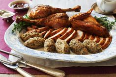 The United States of Thanksgiving | Du Pont Turkey With Truffled Zucchini Stuffing