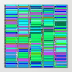 Re-Created CornerStone3-23-14 #Stretched #Canvas by #Robert #S. #Lee - $85.00