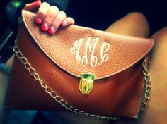 have this purse still need to get it monogramed