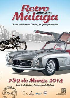 Este fin de semana Retro Auto&Moto y el Museo Automovilístico de Málaga