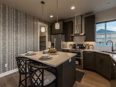 Kitchen Decor wallpaper wall Idea Gallery | EDGE Homes