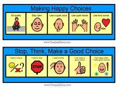 visuals for positive behavior