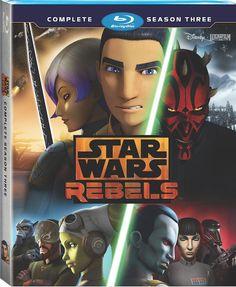 Star Wars Rebels Complete Season 3 On Blu-ray & DVD in August! Keep your eyes peeled!