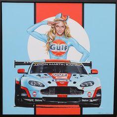 Tony Upson, 'Gulf Aston Martin V8 Vantage',