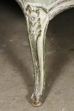 An old French chair leg - I'd do it in my Chalk Old White and Antibes mixed with a little Aubusson