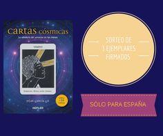 ¡Participa en nuestro SORTEO y gana un ejemplar firmado de 'CARTAS CÓSMICAS' de Pilar Garcia Gil!
