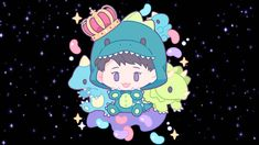 Chen Exo Chen, Kpop, Chibi, Minnie Mouse, Disney Characters, Fictional Characters, Fan Art, Cartoon, Anime