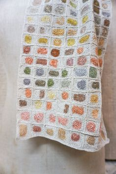 Autumn Crochet, Knit Crochet, Lily Pond, Fall Scarves, Crochet Squares, C2c, Square Quilt, Crochet Designs, Shawls And Wraps