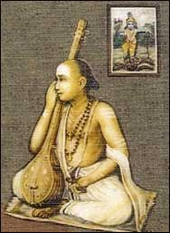 Oothukadu Venkata Subbier (c.1700 - 1765 CE) -A scholar in Sanskrit and Tamil, he composed more than 400 songs in various genres like as kriti, Tillana, Kavadi Chindu and enriched Carnatic music...
