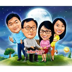Caricature From Photo, Smudging, Digital Art, Jokes, Collections, Lol, In This Moment, Cartoon, Gallery