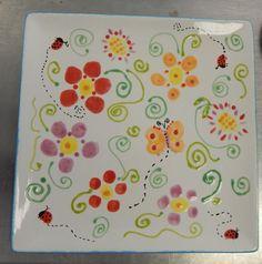 Fingerprint flowers Myownmasterpiecestudio.com