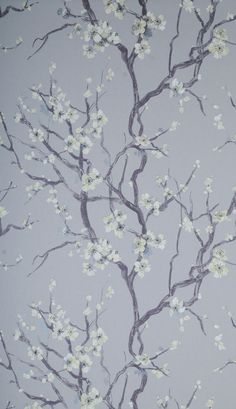Secret Garden Secret Garden by Hooked On Walls £76.00  per roll		 	 This fabulous Japanese influenced wallpaper with blossom trees and swans, a different look but truly amazing. Papers are non woven heavy domestic and wipe down. Please request for sample and they are also paste the wall.   Code 46005	Width 0.69m Roll length 10m	Pattern repeat 0.64m