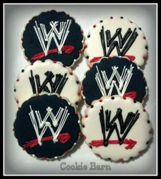 TD would LOVE these! WWE RAW Decorated Cookies - Cookie Barn