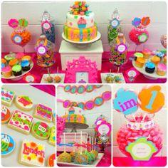 Cupcake Themed 1st Birthday