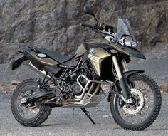 BMW F800 GS - I will own you one day.
