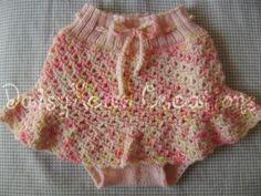 Free crocheting pattern: Seashell Lace Skirtie